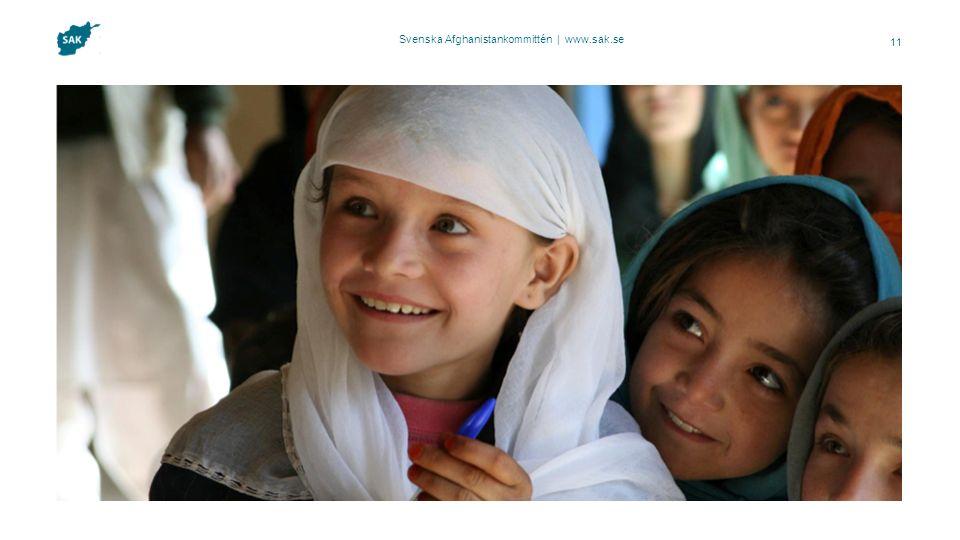 Svenska Afghanistankommittén | www.sak.se 11