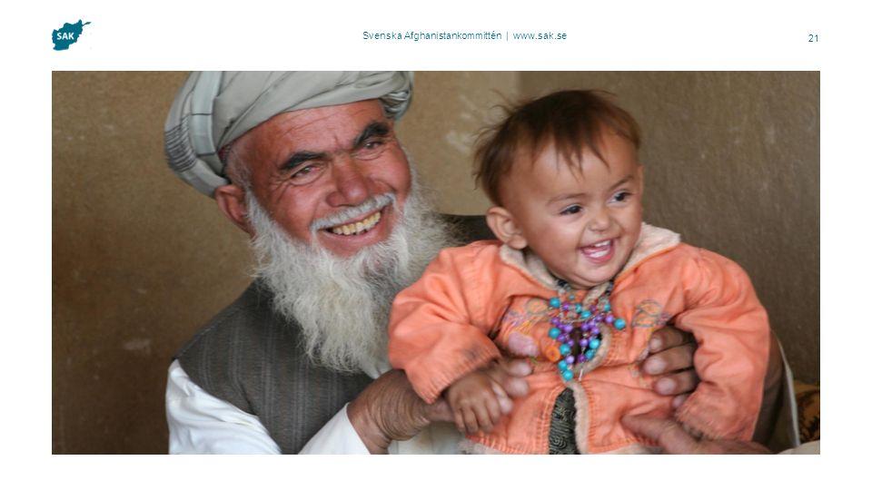 Svenska Afghanistankommittén | www.sak.se 21