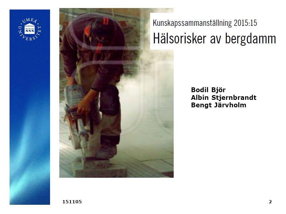 1511052 Bodil Björ Albin Stjernbrandt Bengt Järvholm