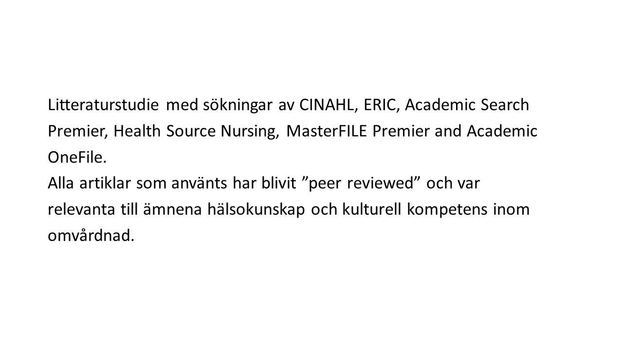 Kvalitativ beskrivning med tematisk analys användes i analysen av sjuksköterskornas upplevelser.