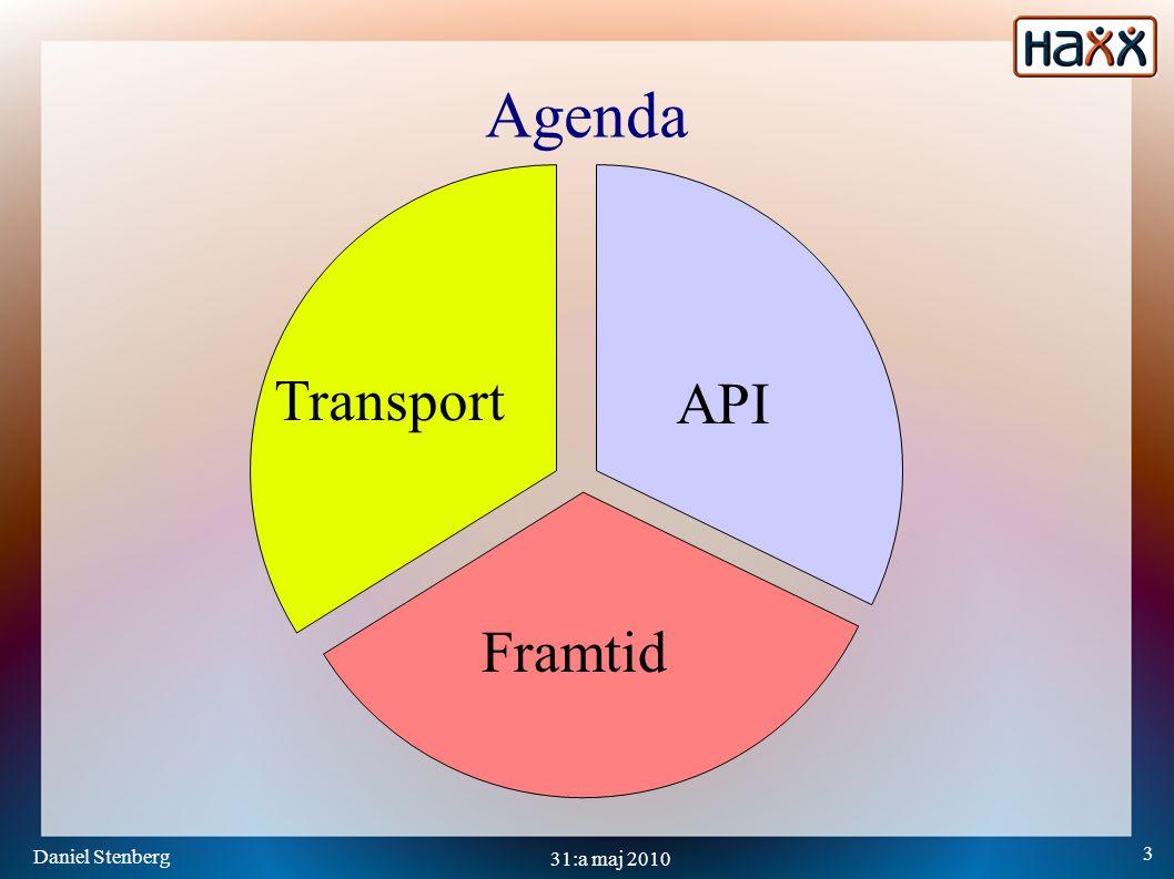 Daniel Stenberg 4 31:a maj 2010 Protokoll-lager Link Internet Transport Application Innehåll som HTML och annat