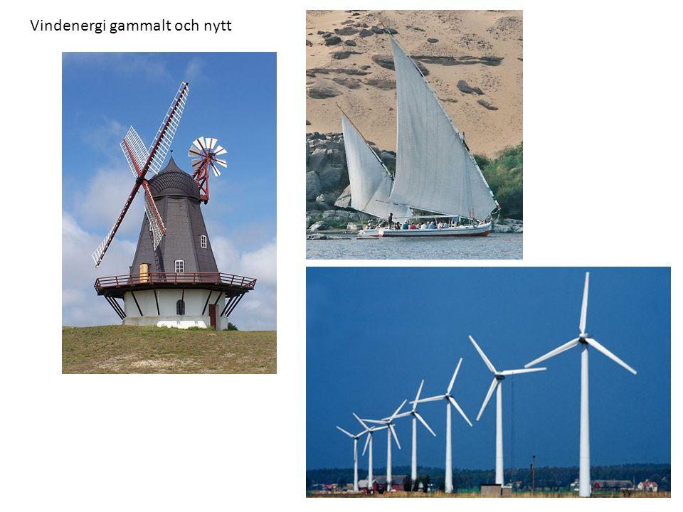 Vindenergi gammalt och nytt