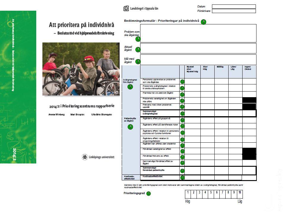 Prioriteringsdilemma 28 Här är två patientgrupper.