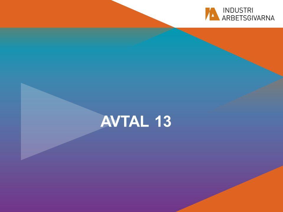 AVTAL 13