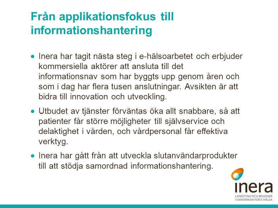 Tack för er uppmärksamhet! sara.meunier@inera.se