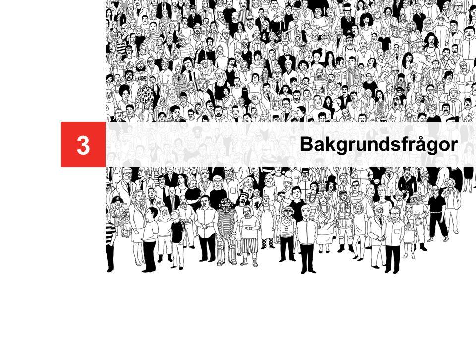 Botkyrka kommun © 2009 YouGov 28 SE2009-529-3 Medborgarpanel nr 4 - Diskriminering 3 Bakgrundsfrågor