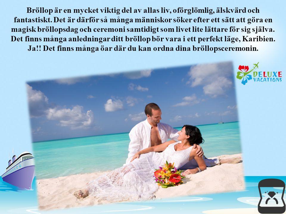 I nnan du gifta du kommer att vara redan på smekmånad destination.