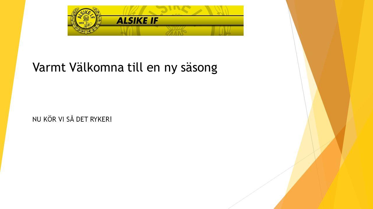Varmt Välkomna till en ny säsong NU KÖR VI SÅ DET RYKER!