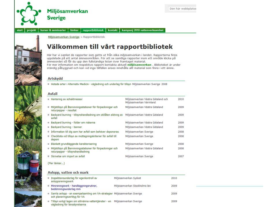 Nationella rapportbiblioteket SU 2010-10-20