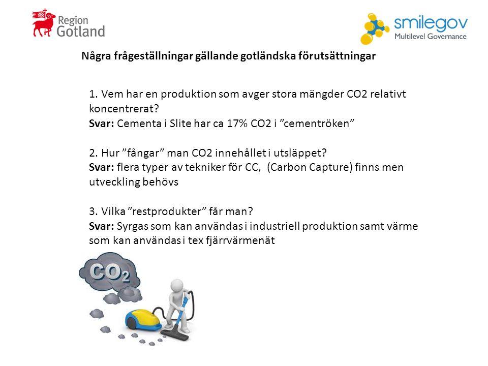 Några frågeställningar gällande gotländska förutsättningar 1.