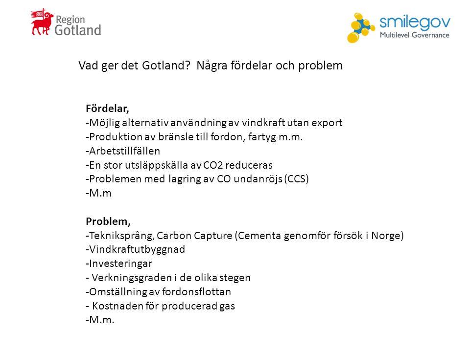 Vad ger det Gotland.