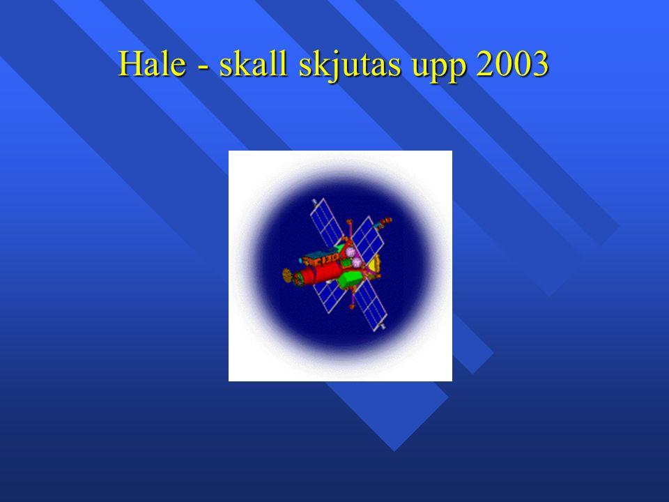 Hale - skall skjutas upp 2003