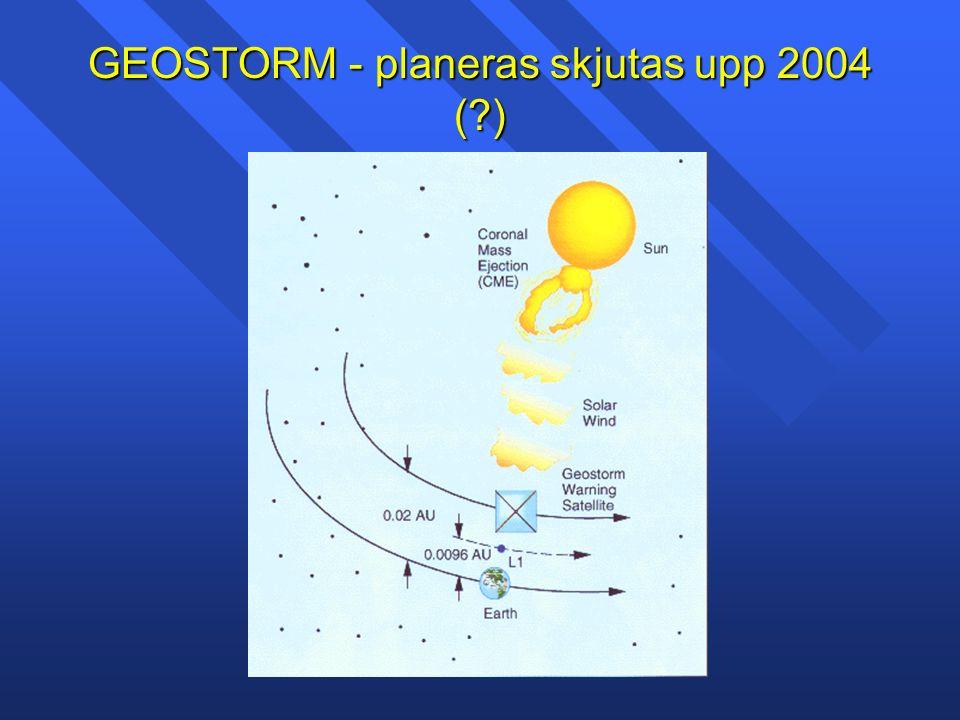 GEOSTORM - planeras skjutas upp 2004 ( )