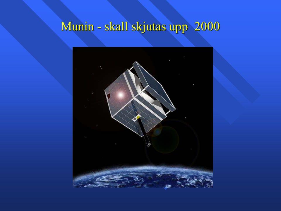 Munin - skall skjutas upp 2000