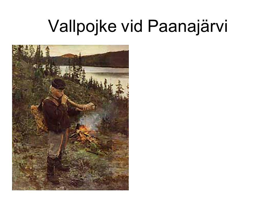 Vallpojke vid Paanajärvi