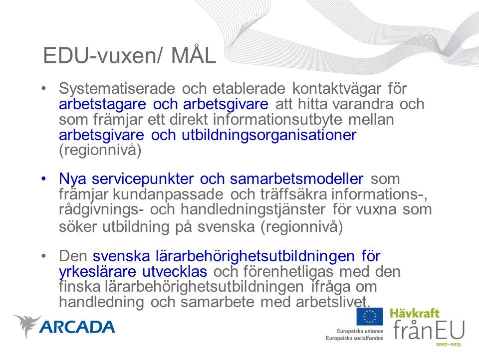 På gång 2009 Projektkoordinator i Vasa anställs.