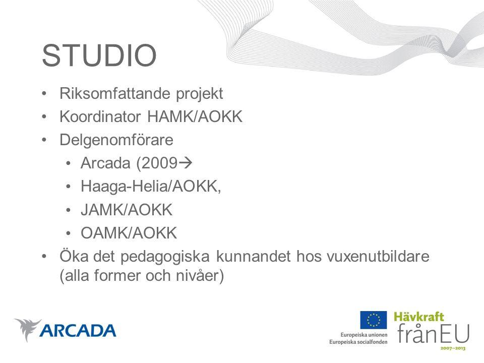Kontaktuppgifter Gerd Kummel-Kunnas, projektchef Arcada 0207 699 530, 040 522 6587 gerd.kummel-kunnas@arcada.fi http://edu-vuxen.arcada.fihttp://edu-vuxen.arcada.fi (under uppbyggnad) http://www.opinovi.fihttp://www.opinovi.fi (under uppbyggnad)