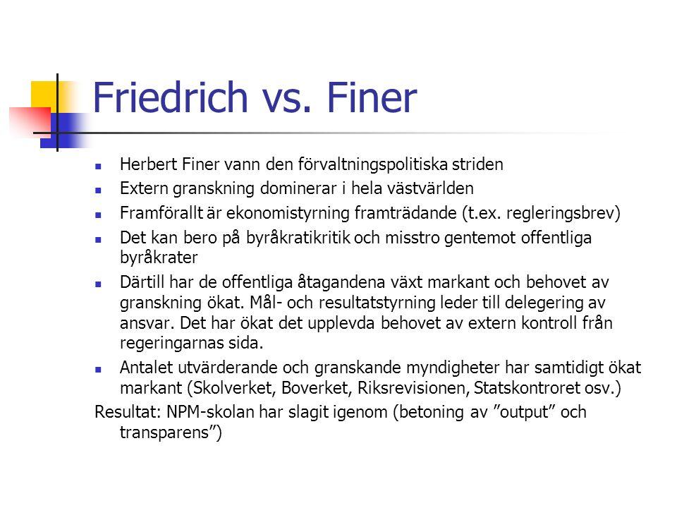 Friedrich vs.