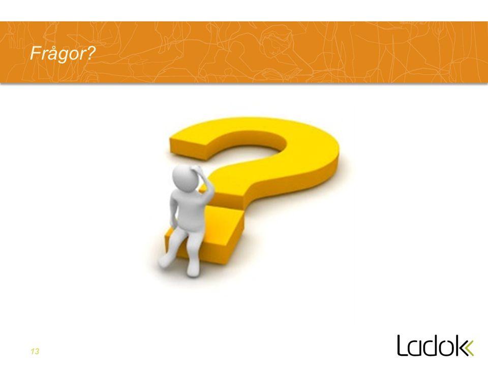 13 Frågor