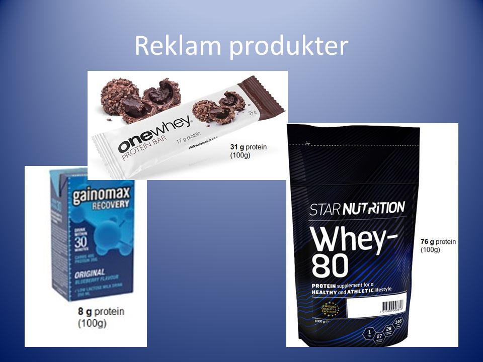 Reklam produkter