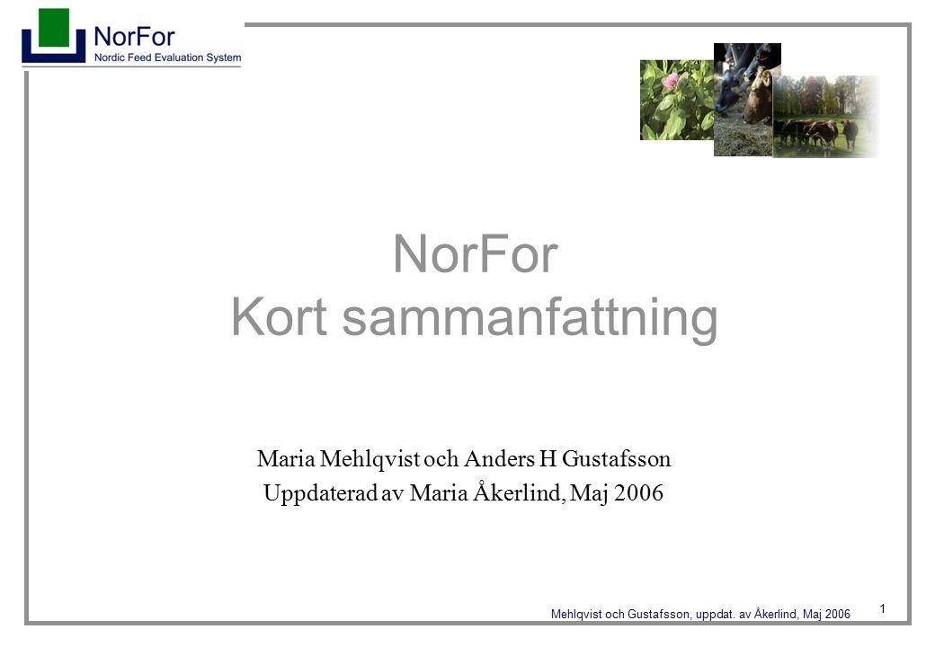 1 Mehlqvist och Gustafsson, uppdat.