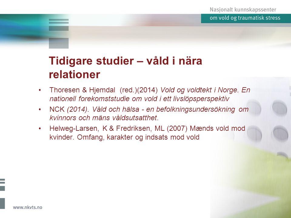 Kvalitativa data – ungdomsintervjuer (Norge) 22 ungdomar 14-18 år 19 flickor, 3 pojkar ungdomsinstitutioner,ungdomsläger, temadagar(kommun), fältarbetare, kvinnojour, skolor, ungdomsgrupper