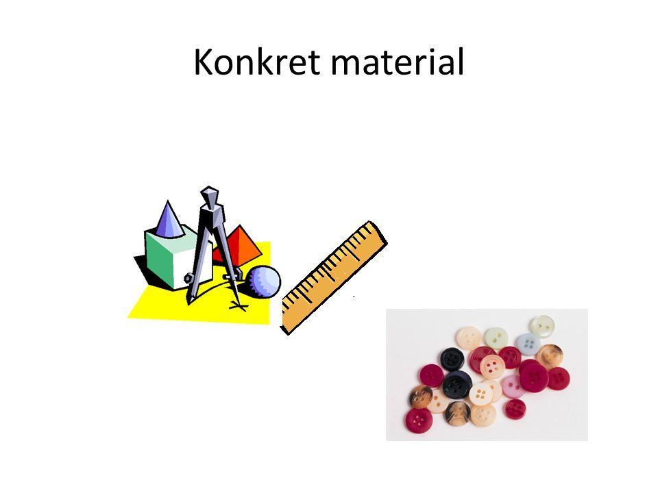 Konkret material