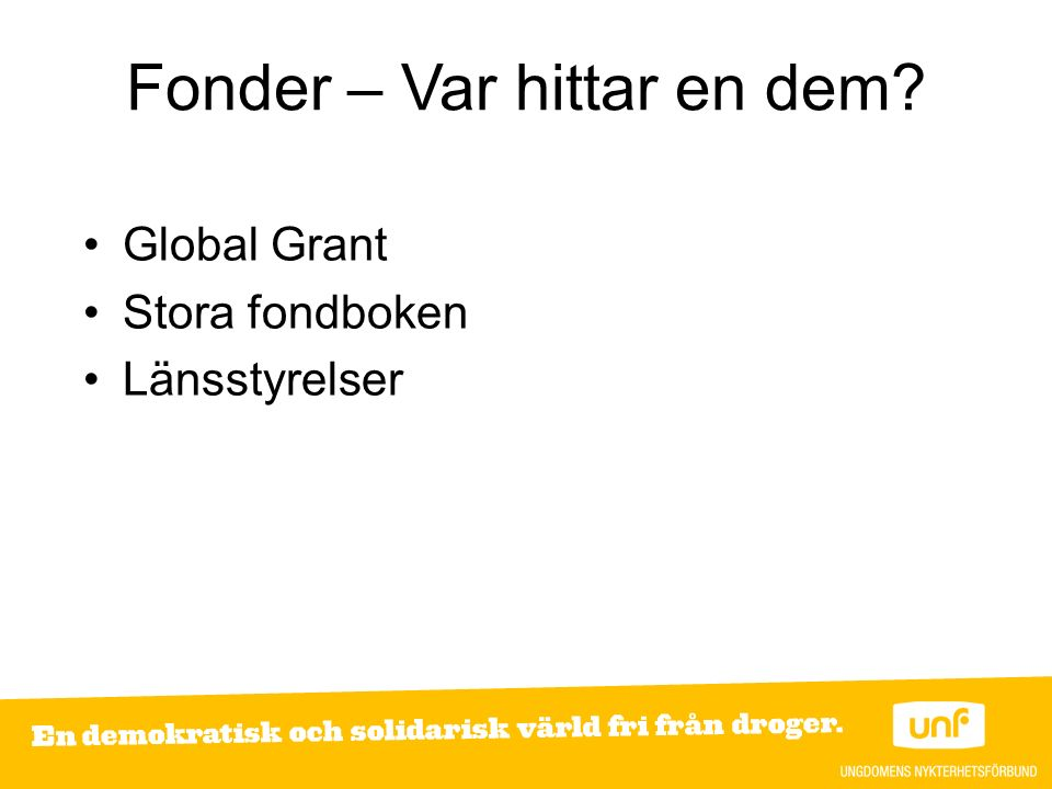 Fonder – Var hittar en dem? Global Grant Stora fondboken Länsstyrelser