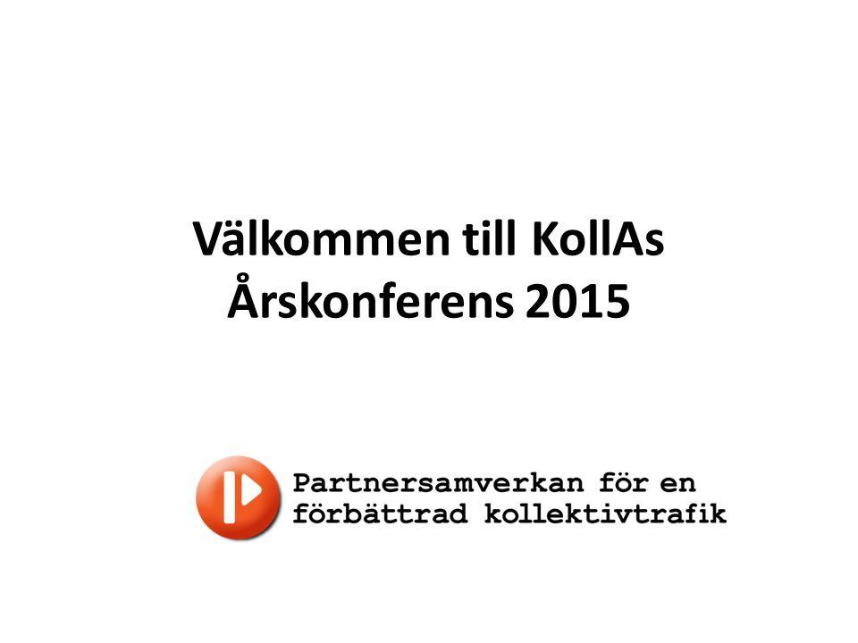 Välkommen till KollAs Årskonferens 2015