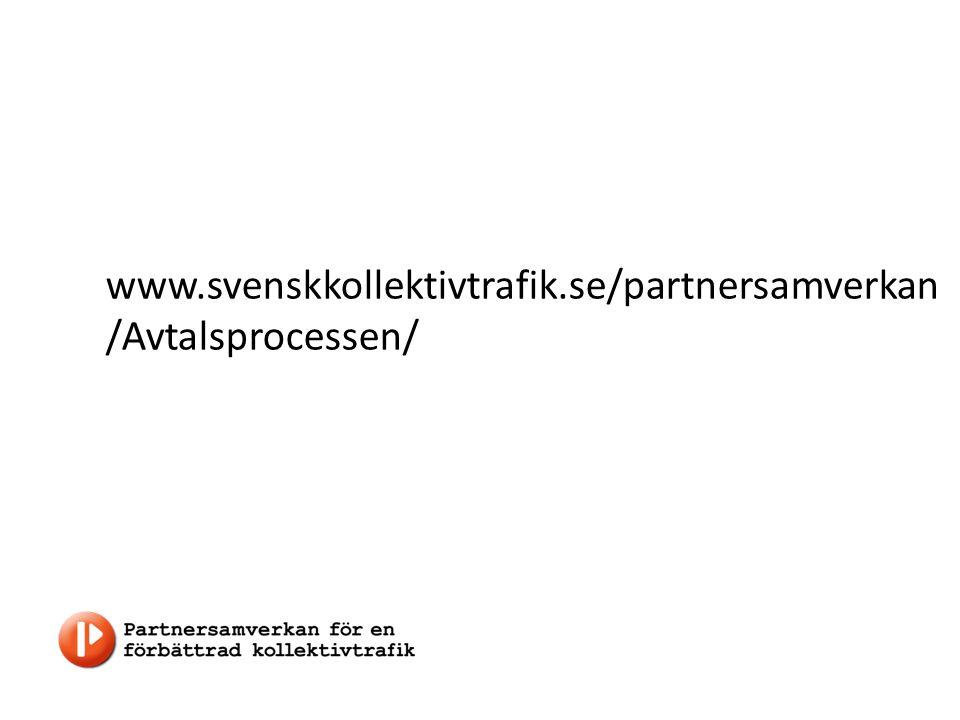 www.svenskkollektivtrafik.se/partnersamverkan /Avtalsprocessen/