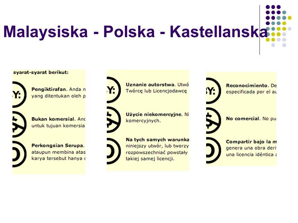 Malaysiska - Polska - Kastellanska