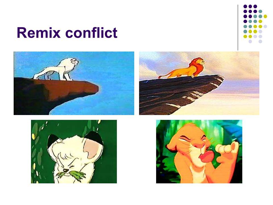 Remix conflict