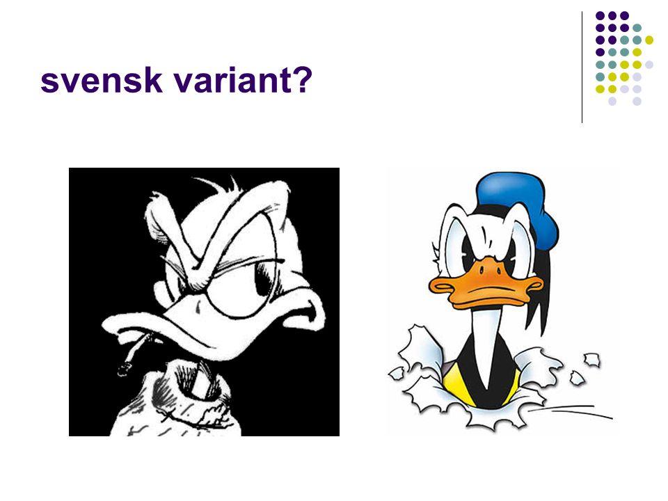 svensk variant