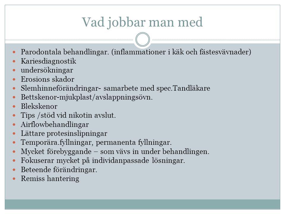 utbildningsorter Stockholm Karolinska Institutet-Odontologiska fakulteten.