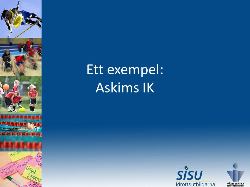 Ett exempel: Askims IK