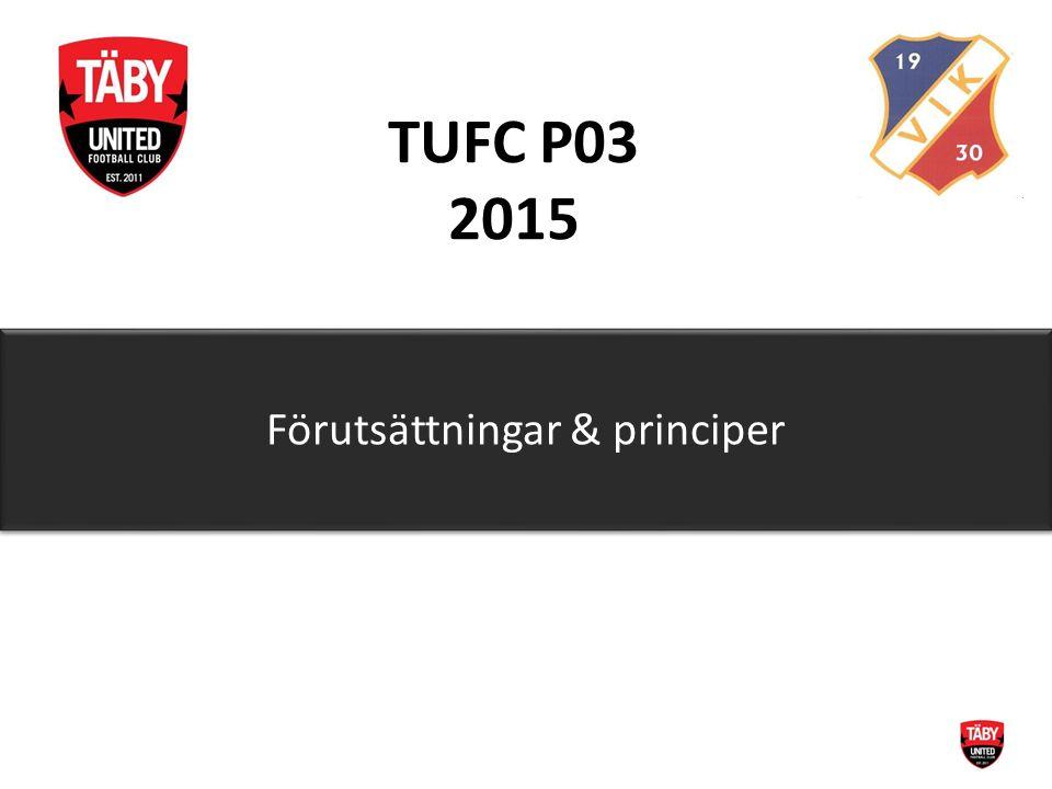 TUFC P03 2015 Förutsättningar & principer