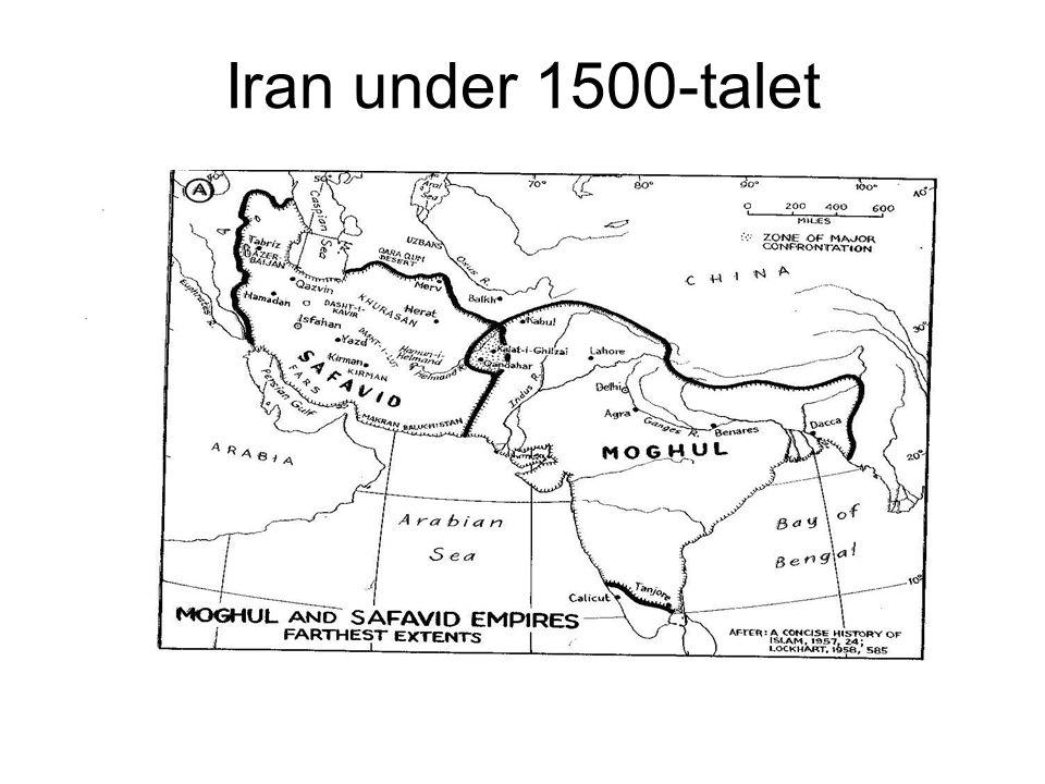 Iran under 1500-talet