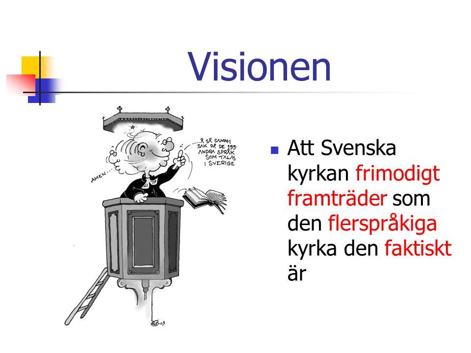 Självbilden Svenska kyrkans identitet och uppdrag Hur uppfattar Svenska kyrkan sig själv.