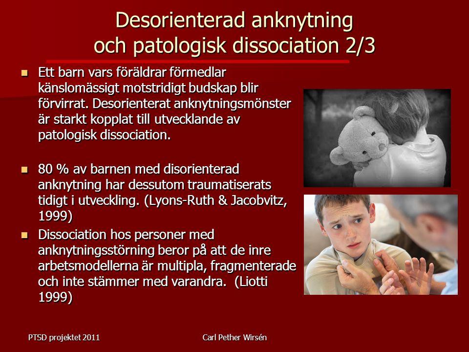 Ett barn vars föräldrar förmedlar känslomässigt motstridigt budskap blir förvirrat.