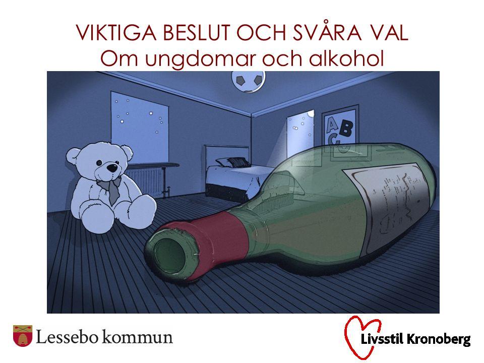 Ungdomstiden är den period i livet då vi konsumerar mest alkohol och droger och begår flest brott.