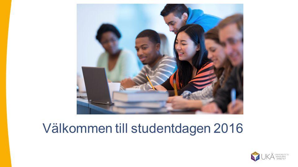 Välkommen till studentdagen 2016