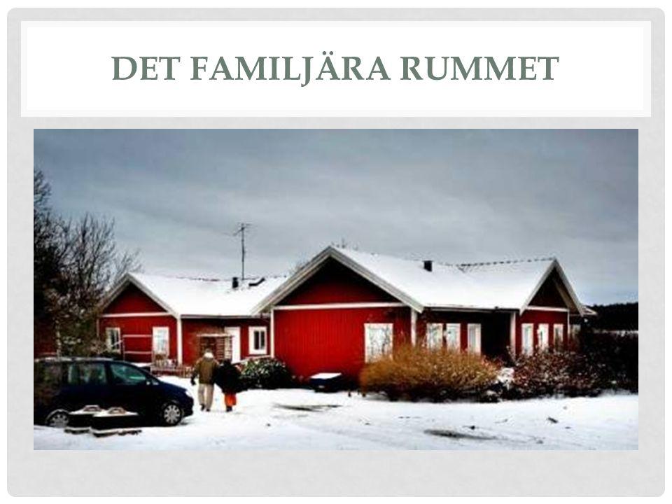 DET FAMILJÄRA RUMMET