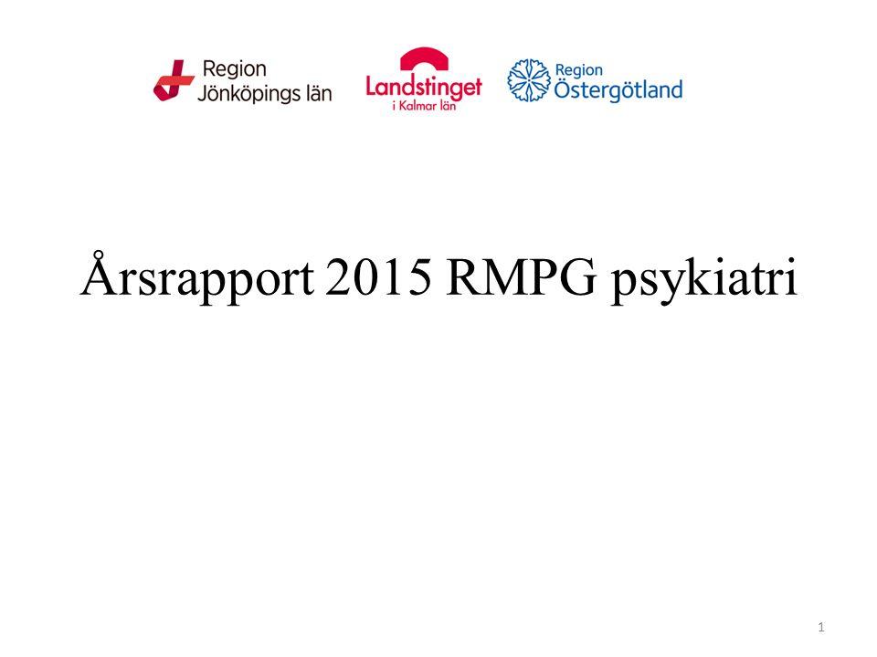 Årsrapport 2015 RMPG psykiatri 1