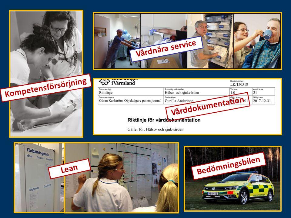 Lean Bedömningsbilen Vårdnära service Kompetensförsörjning Vårddokumentation
