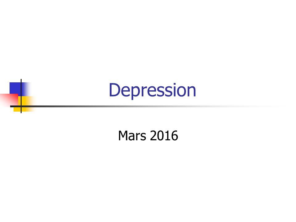 Depression Mars 2016