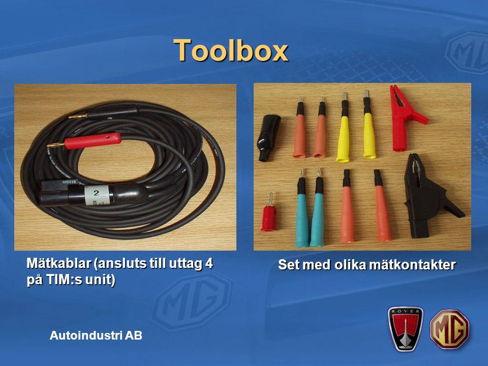 Toolbox Autoindustri AB Tryck / Vacuum omformare Tryck / Vacuum omformare Tryck / Vacuum tillkopplings set Tryck / Vacuum tillkopplings set
