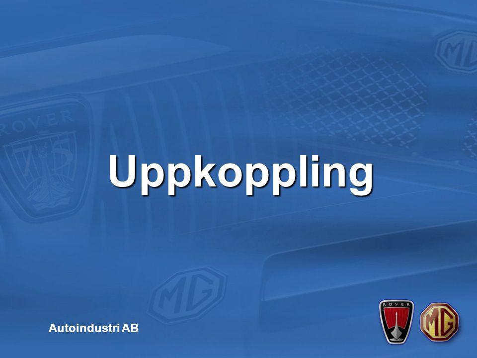 Uppkoppling av T4 till bil Autoindustri AB