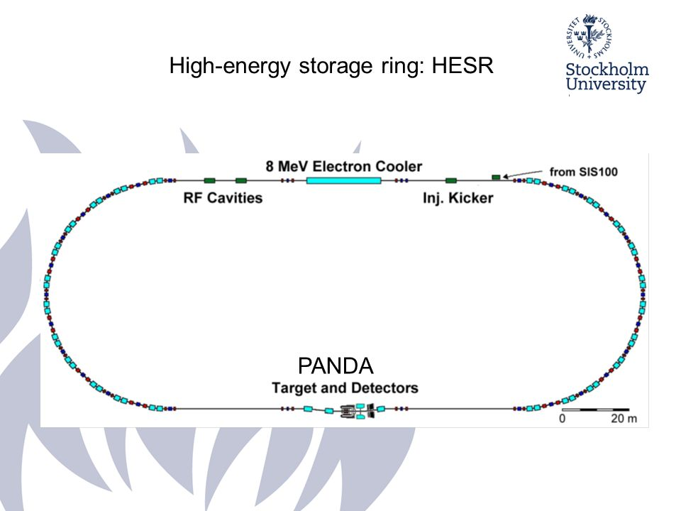 High-energy storage ring: HESR PANDA