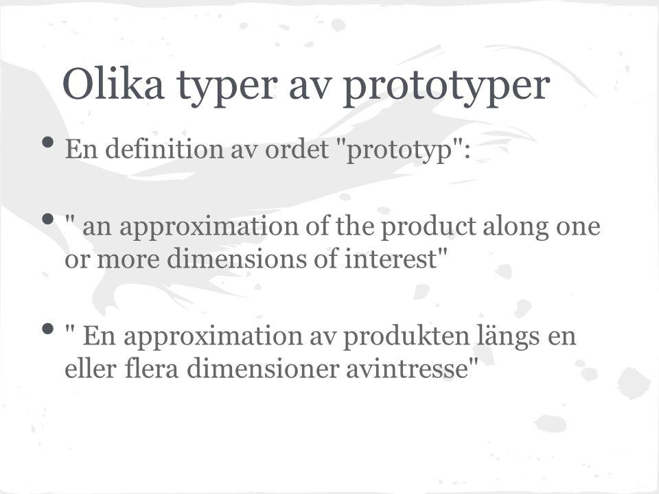 Framställning av prototyper Friformframställning 3D printing Rapid prototyping Billigare, bättre, funktionella prototyper