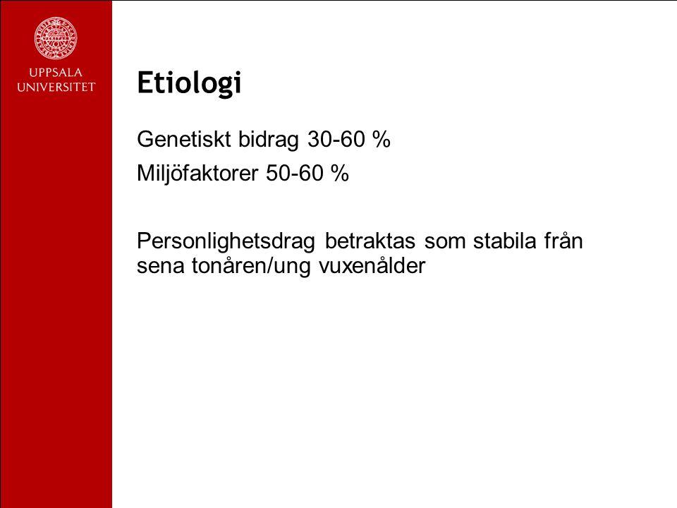 Personlighetsmodeller I Eysenck Personality Questionnaire (H.